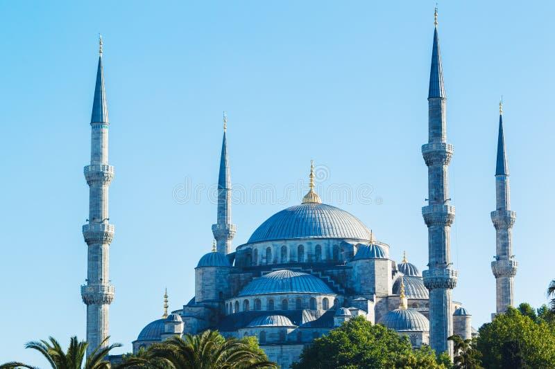 Beautiful Blue Mosque stock photos