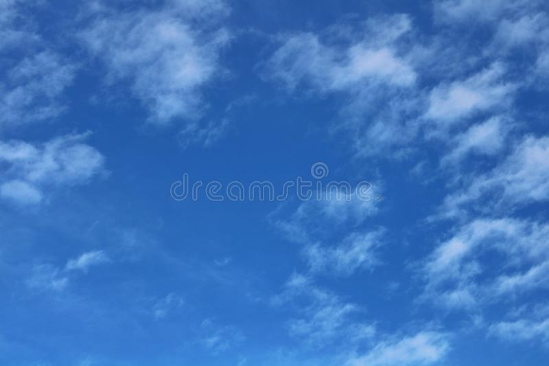 Beautiful blue skies with cloud. Abstract, background, design, web, environment, e, natural stock photos