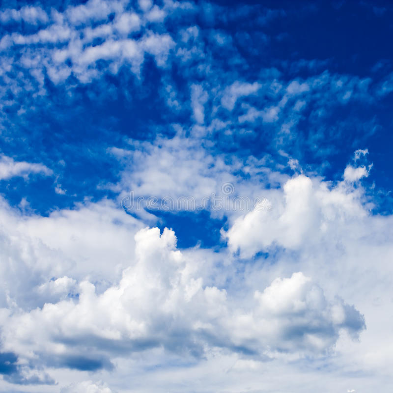 Download Beautiful blue sky stock photo. Image of plain, copy - 11374610