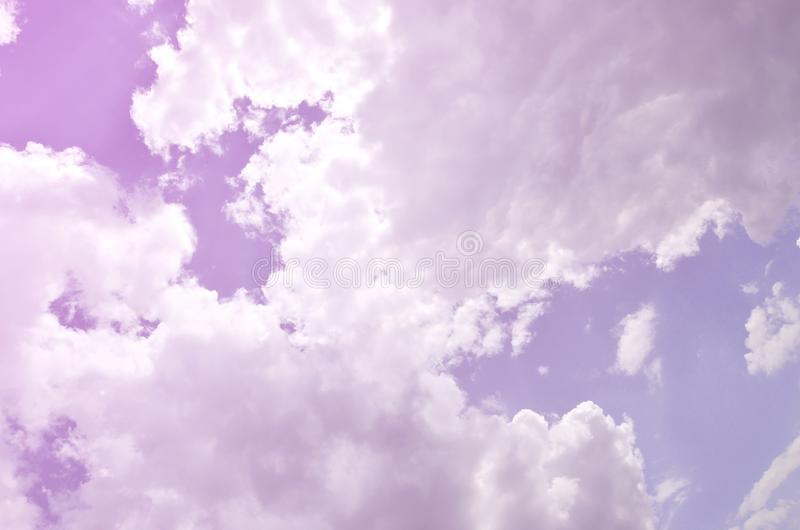 Beautiful blue sky background template with some space for input text message below isolated on blue royalty free stock photos