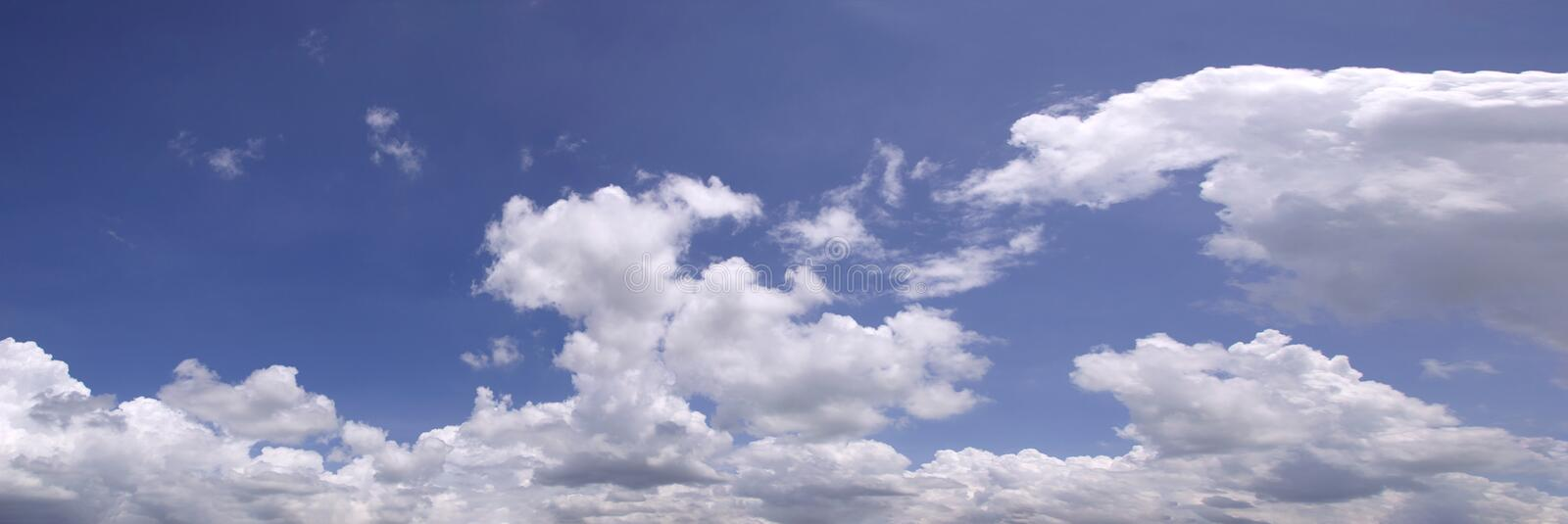 Beautiful blue sky with cloud. Beautiful blue sky with many cloud stock images