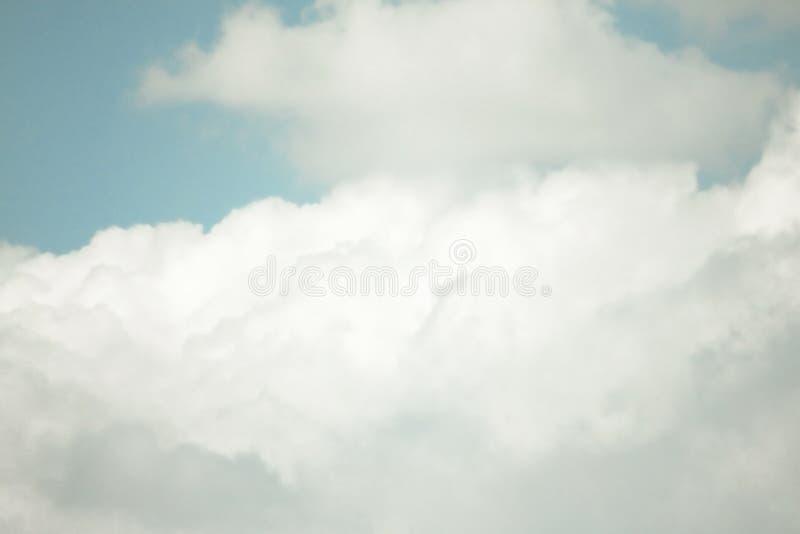 BEAUTIFUL BLUE SKY CLOUD OF SUMMER stock photos
