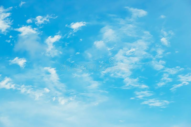 Beautiful blue sky with clouds background.Sky with clouds weather nature cloud blue royalty free stock images