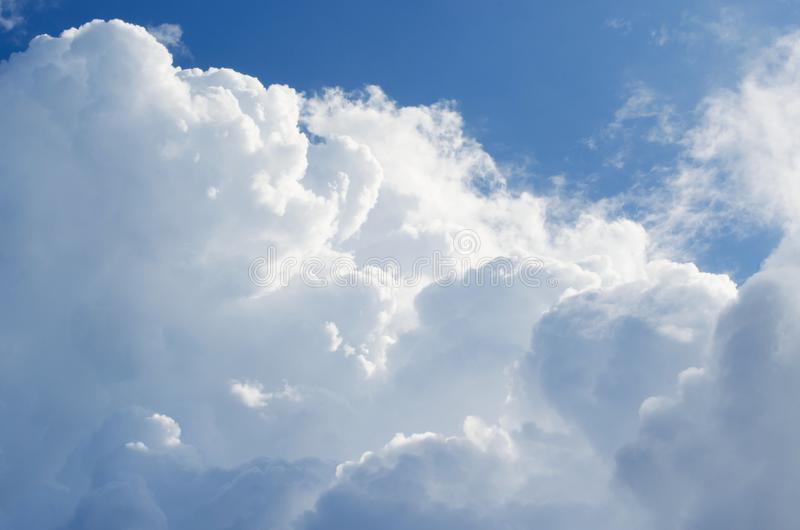 Beautiful blue sky with clouds background.Sky clouds.Sky with clouds weather nature cloud blue royalty free stock photo