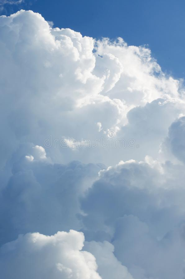 Beautiful blue sky with clouds background.Sky clouds.Sky with clouds weather nature cloud blue stock photos