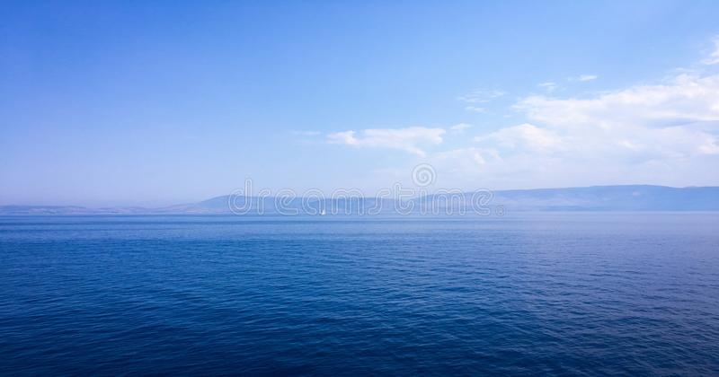 Beautiful blue sky with clouds background. Sky clouds. Sky with clouds weather nature cloud blue. Blue sky with clouds and sun. royalty free stock photography