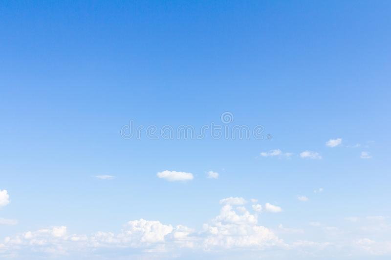 Beautiful blue sky and clouds. For real estate sky replacement stock images