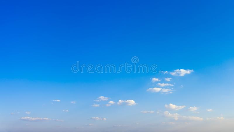 Beautiful blue sky and clouds background. Beautiful blue sky and clouds natural background stock images