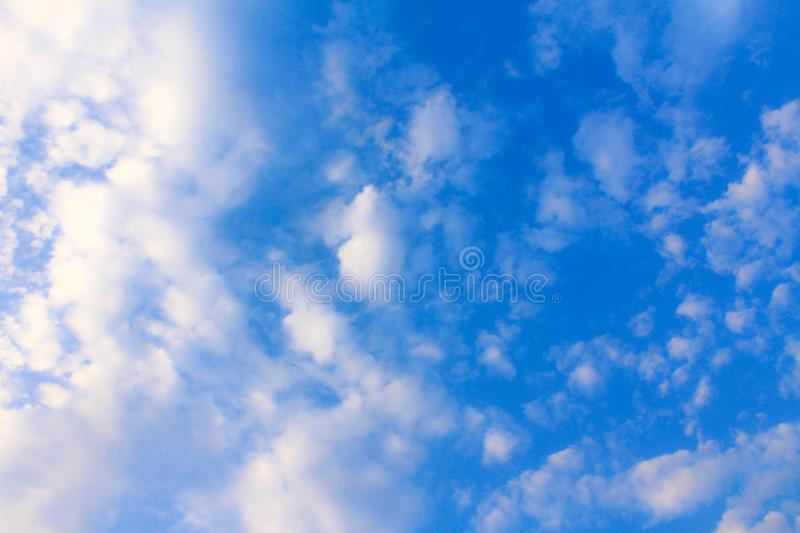 Beautiful Blue Sky and Clouds. stock photography