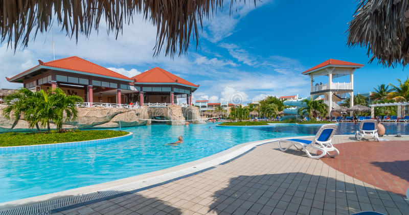 Download Beautiful Blue Sky Holiday In Cuba View From Pool Getaway Vacation Varadero