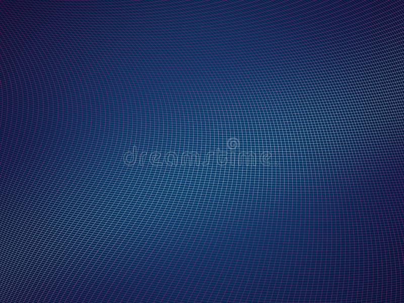 Blue Wire Abstract virtual digital background royalty free stock photo