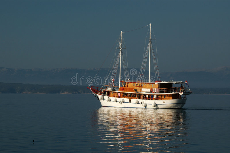 Beautiful boat royalty free stock images