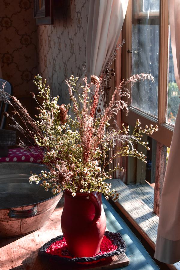 Bouquet of Fall Wildflowers royalty free stock photos
