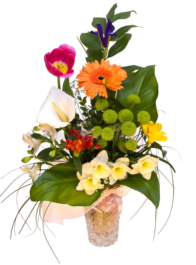 Free Beautiful Bouquet Of Spring Flowers Stock Photos - 20385213