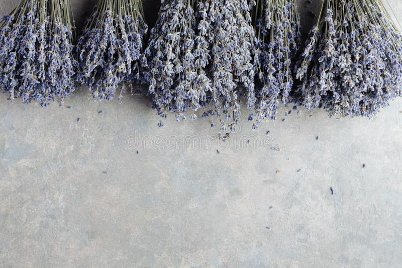Beautiful bouquets of lavender royalty free stock photos