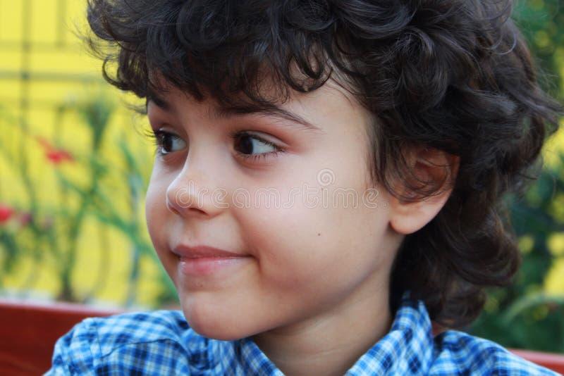 Beautiful boy royalty free stock image