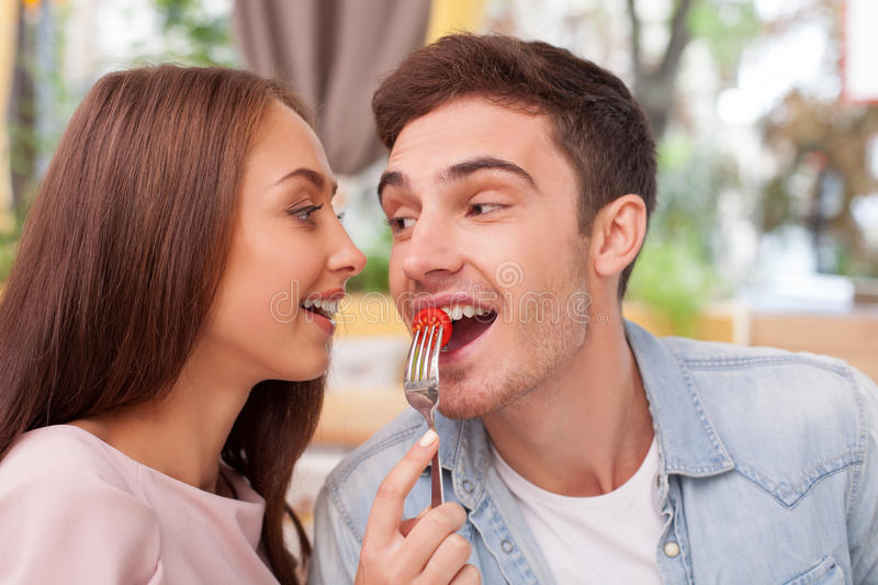 Dating girl eating meaning