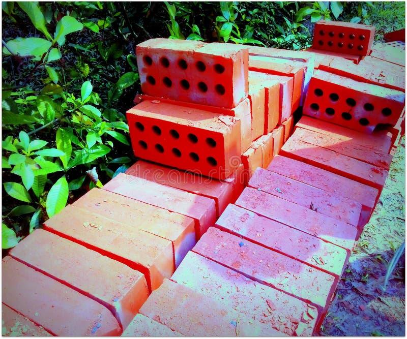 Bricks. A beautiful bricks royalty free stock photo