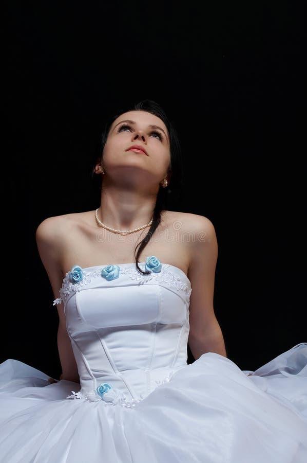 Beautiful bride 02 stock photos