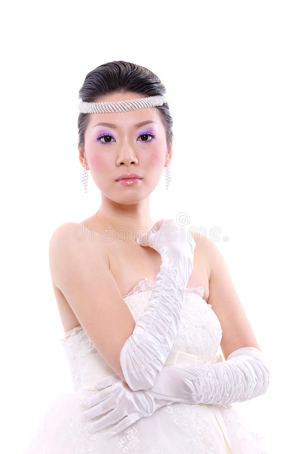 Download Beautiful bride stock photo. Image of attract, woman - 21131824