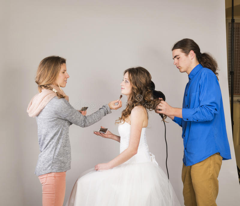 Download Beautiful Bride stock image. Image of kind, gray, cute - 38239669
