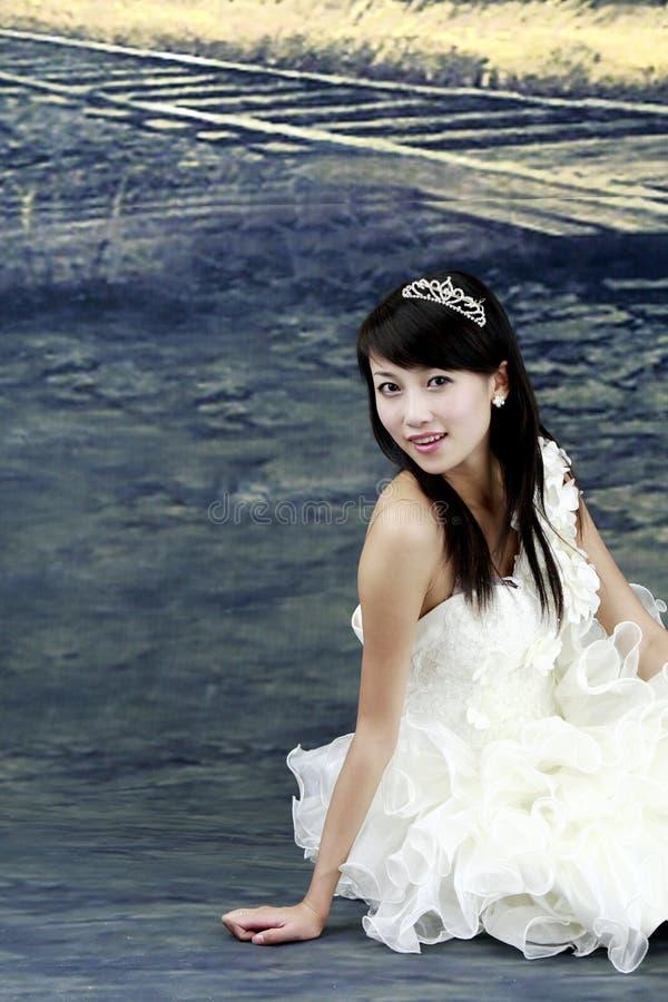 Download Beautiful bride. stock image. Image of eastern, artist - 5999961
