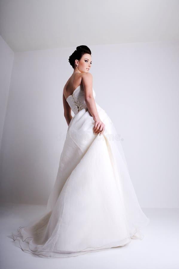 beautiful bride fashion shot young στοκ εικόνες