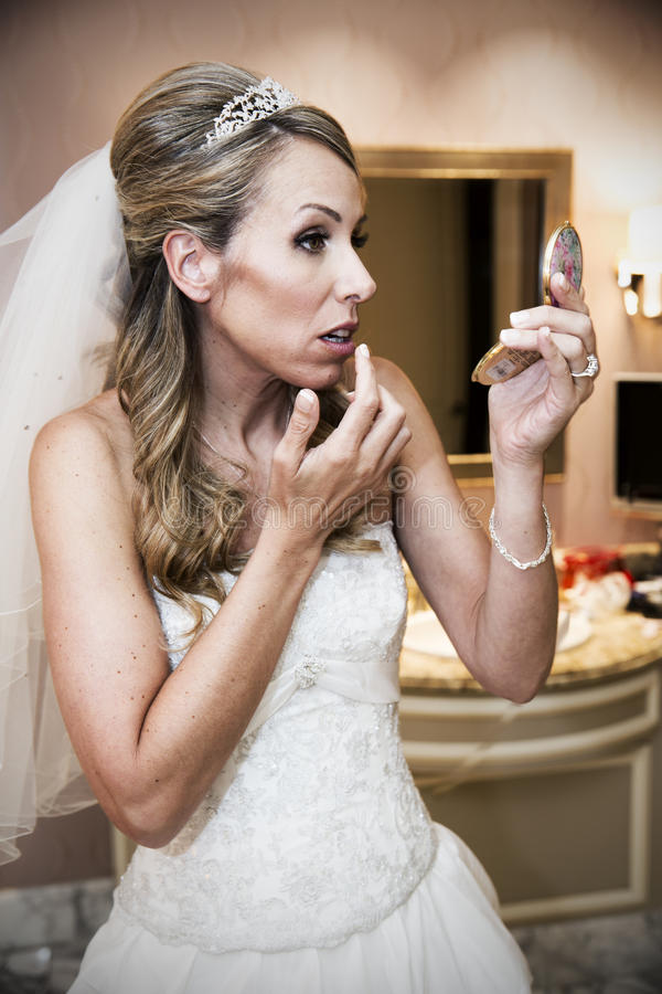 Beautiful bride. stock image