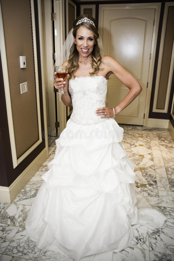 Beautiful bride. stock photo