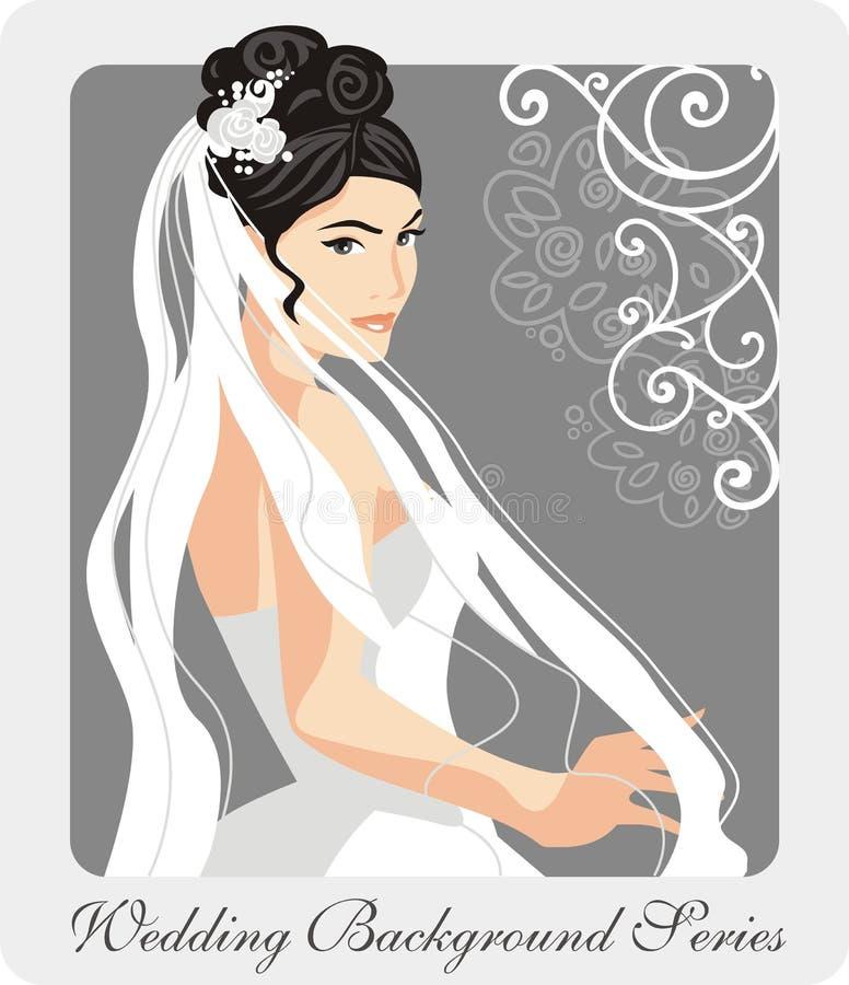 Download Beautiful Bride Illustration Stock Illustration - Illustration: 21995070