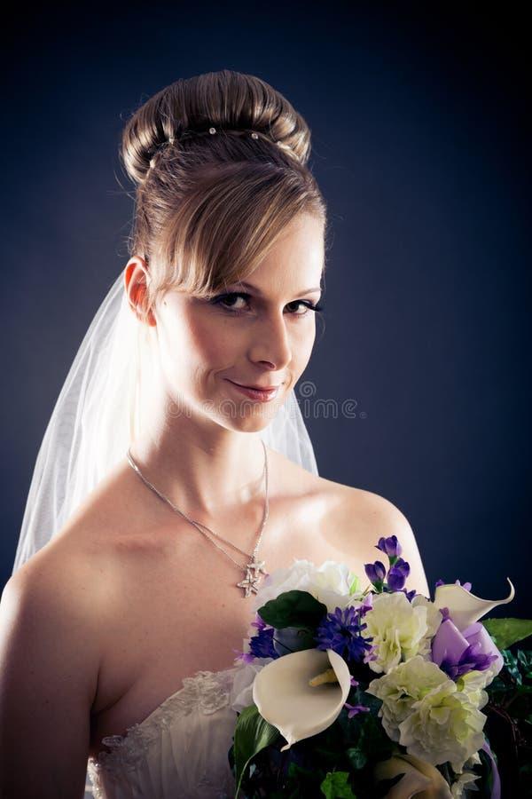 Beautiful Bride`s Portrait royalty free stock image