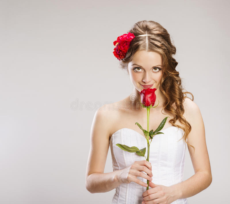 Download Beautiful Bride stock photo. Image of elegance, isolated - 36596380