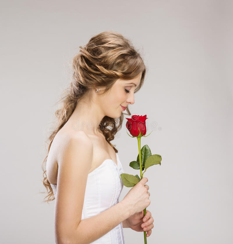 Download Beautiful Bride stock photo. Image of elegant, curly - 36596408