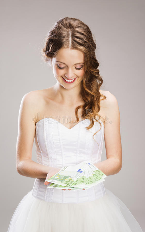 Download Beautiful Bride stock image. Image of elegance, holding - 36596843
