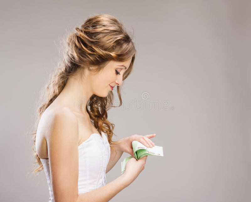 Download Beautiful Bride stock photo. Image of earning, elegance - 36596940