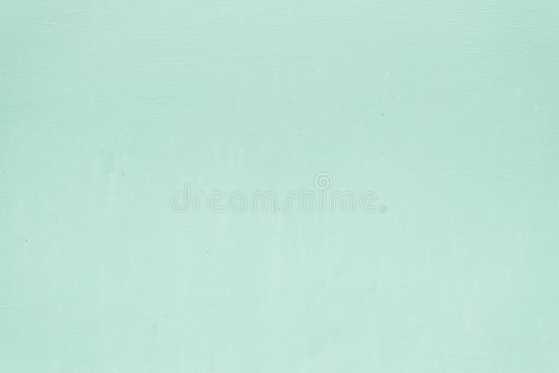 Beautiful bright mint green color for the background. Copy space.  royalty free stock photo