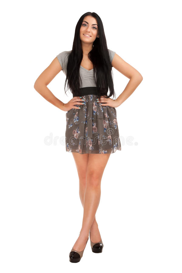 Download Beautiful brunette stock photo. Image of care, fashion - 28539200