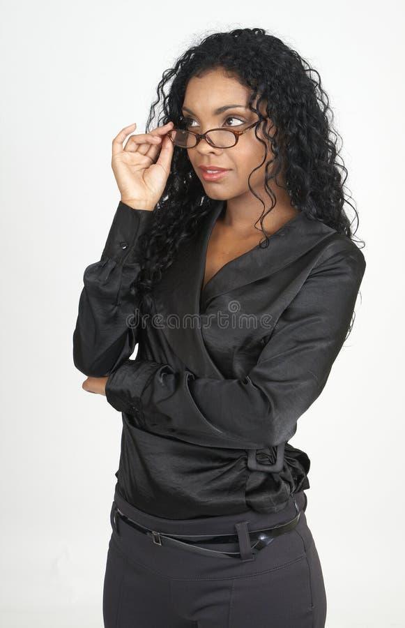 Free Beautiful Brunette Businesswoman Royalty Free Stock Image - 14609706
