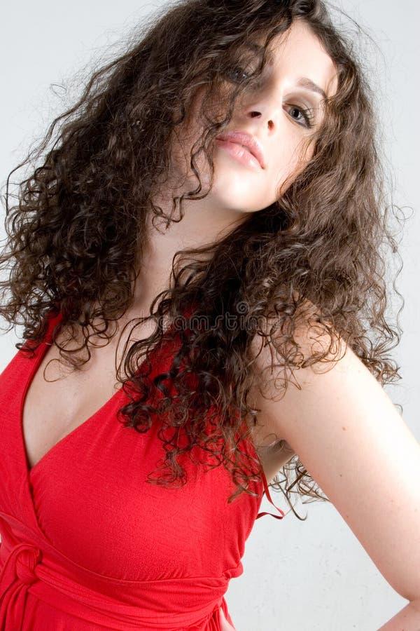 Download Beautiful Brunette Fashion Shot Stock Image - Image: 1719881
