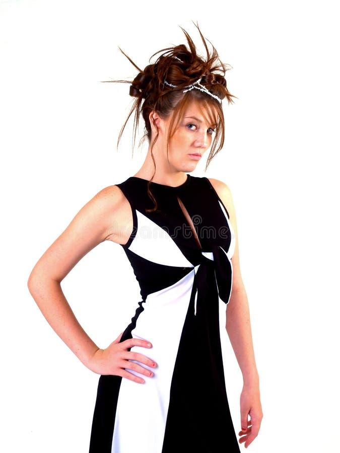 Beautiful Brunette Teen stock photo