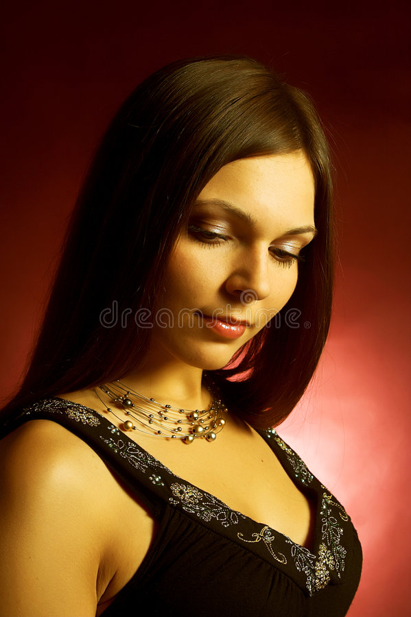 Free Beautiful Brunette Woman Stock Image - 5311861