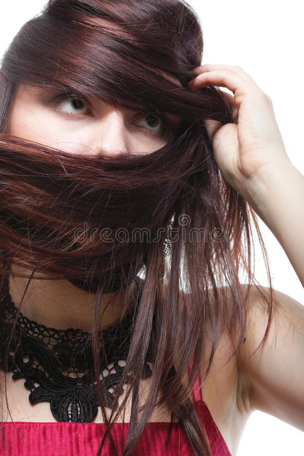 Download Beautiful Brunette Woman Long Hair Stock Photo - Image: 23610934