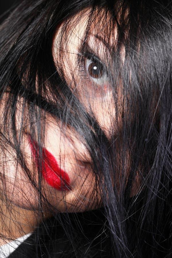 Download Beautiful Brunette Woman Long Hair Stock Image - Image: 34086847