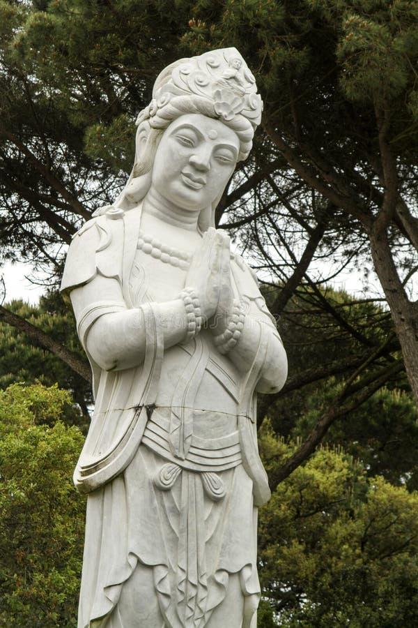 Beautiful Buddha statue royalty free stock photo