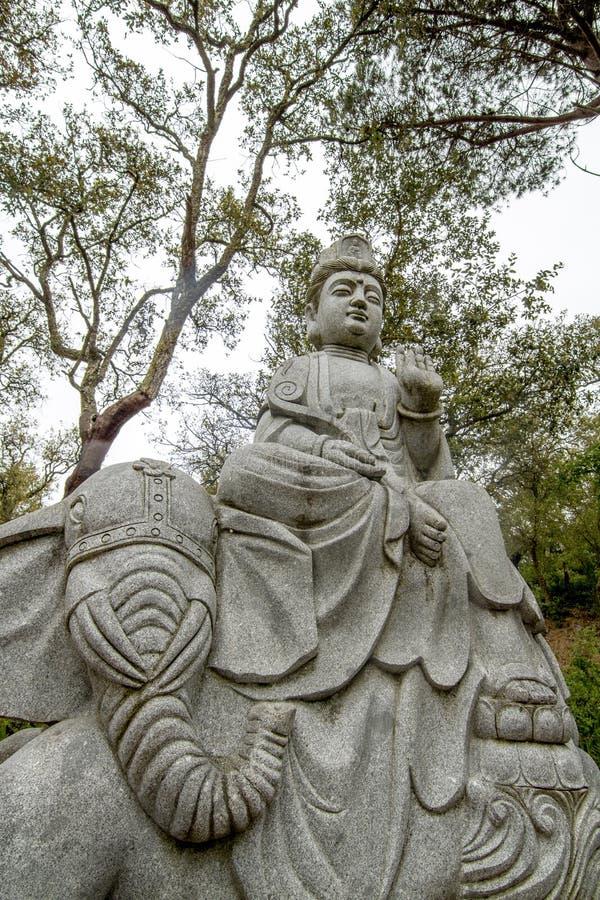Beautiful Buddha statue royalty free stock images