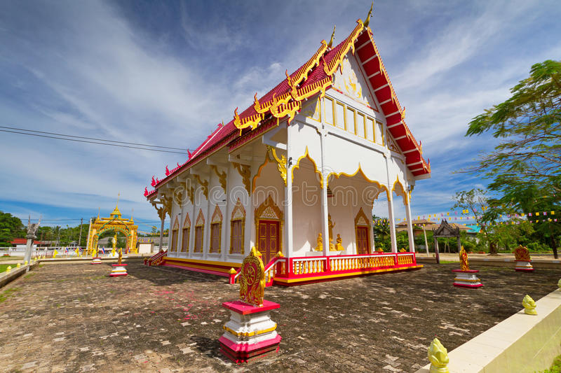 Beautiful Buddhism Temple In Thailand Royalty Free Stock Photo