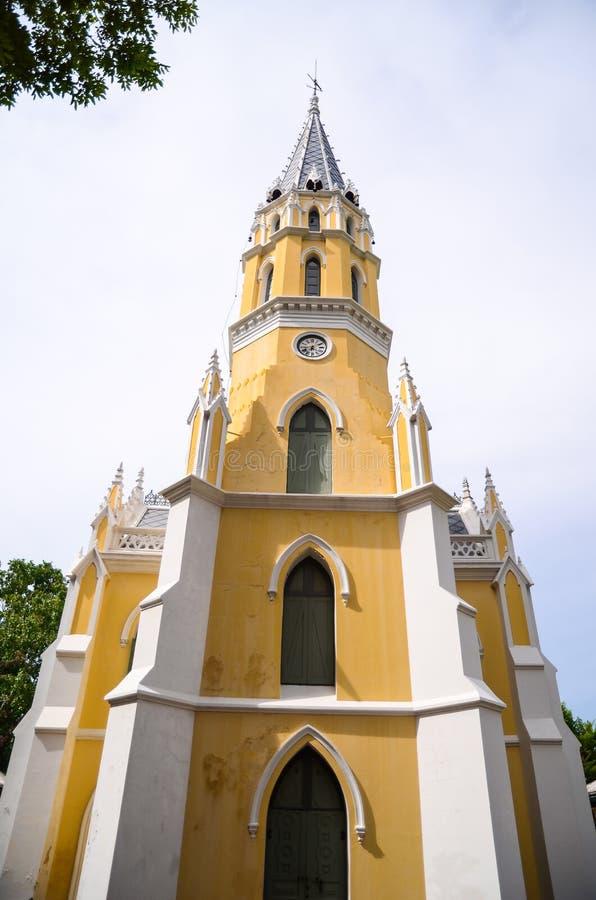 Beautiful Buhhism church stock image