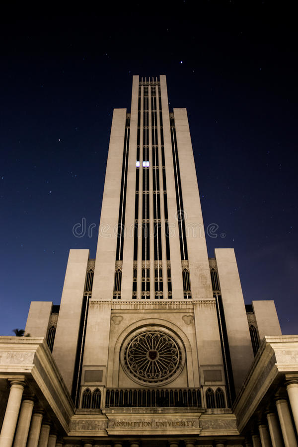 Beautiful Building at night royalty free stock images