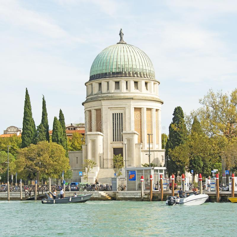 Majestic Buildings near the City of Venice royalty free stock photos