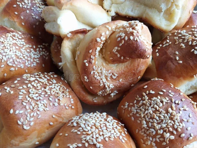 Beautiful buns stock photos